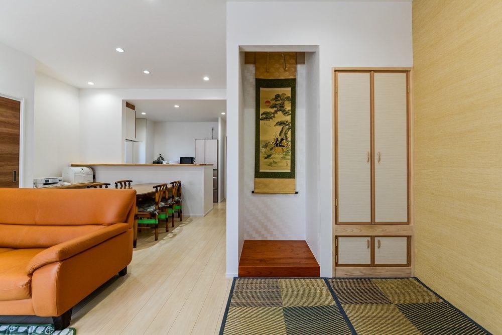 玄関が二つある完全二世帯住宅イメージ7